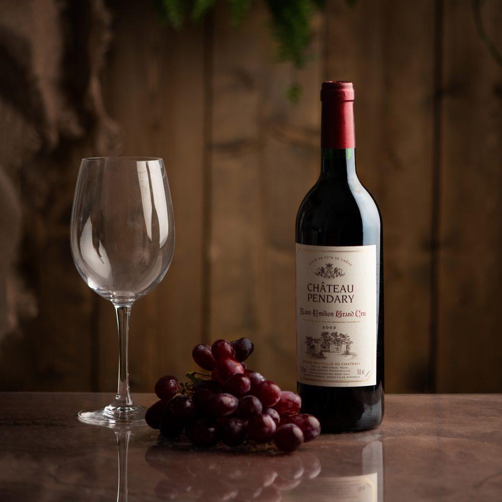 Wine photographer london